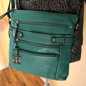 Gianni Bini leather crossbody